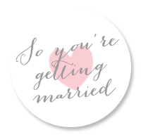so you're getting married badge