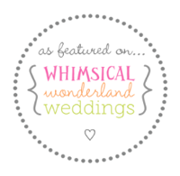 featured on a wedding blog
