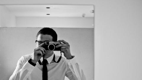 camera photographer selfie