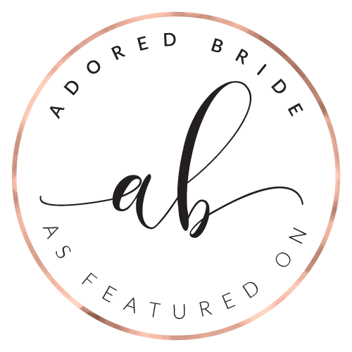 Featured on Adored Bride Wedding Blog
