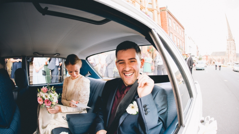 Hereford town hall wedding