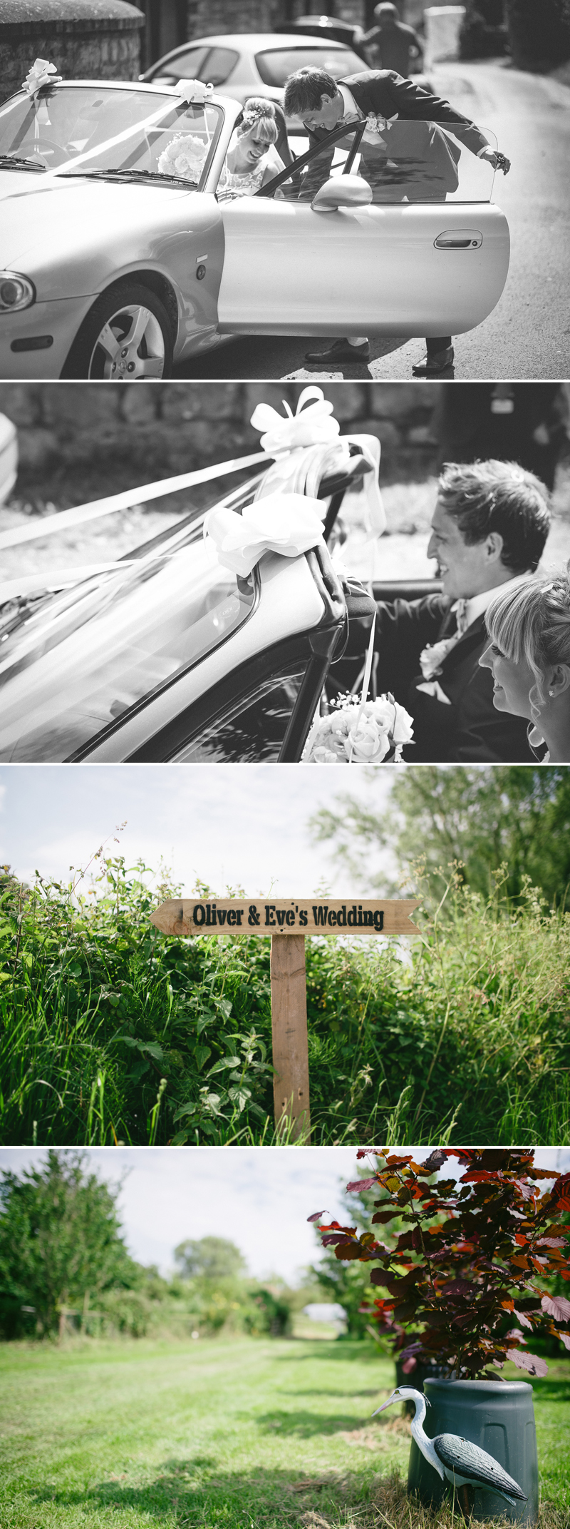 just married photographs