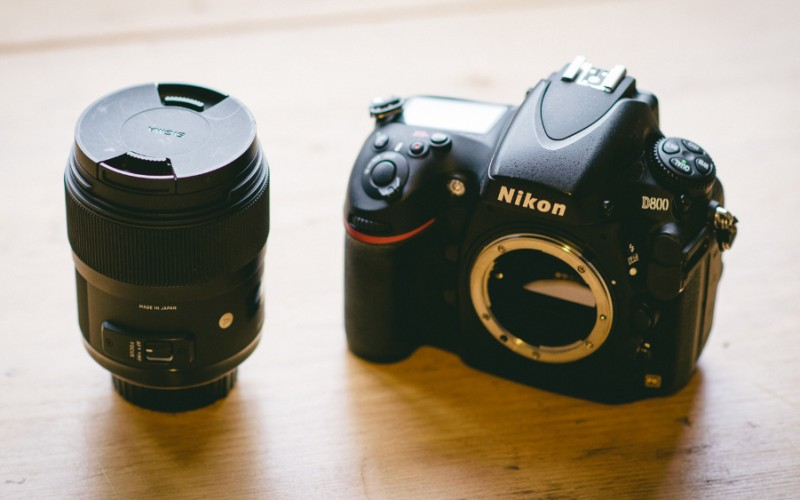 Picture of d800 and sigma 35 1.4