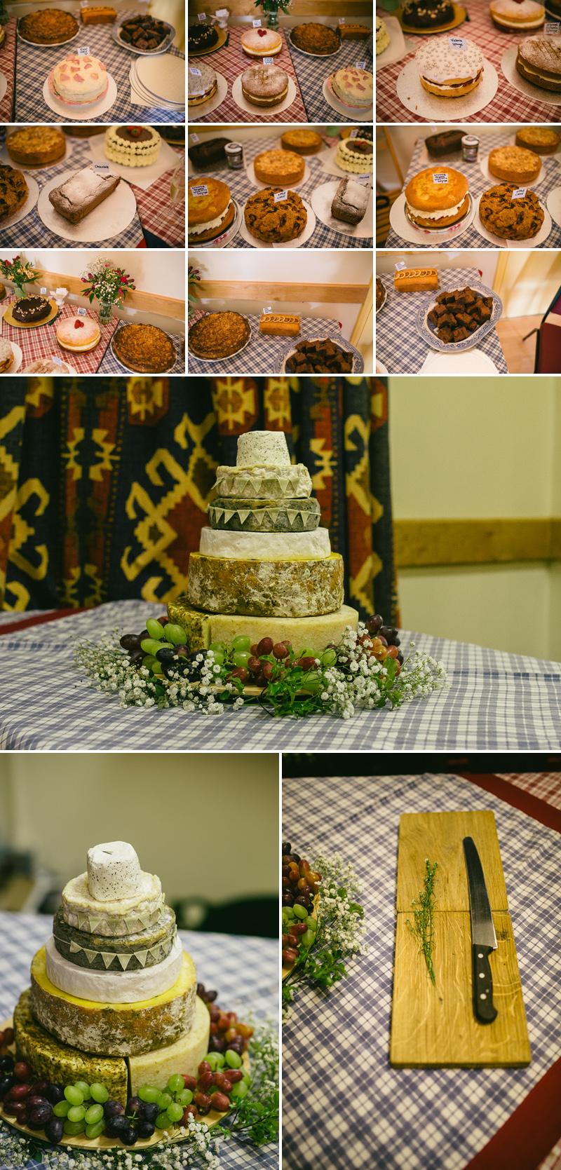 wedding cheese cake bake off