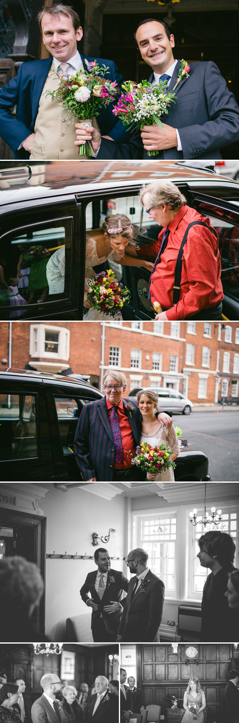 hereford townhall wedding car