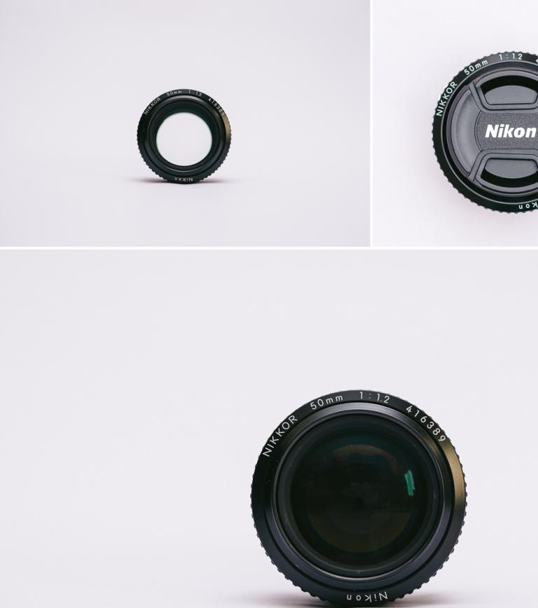 Nikon 50mm f1.2 a.i.s lens
