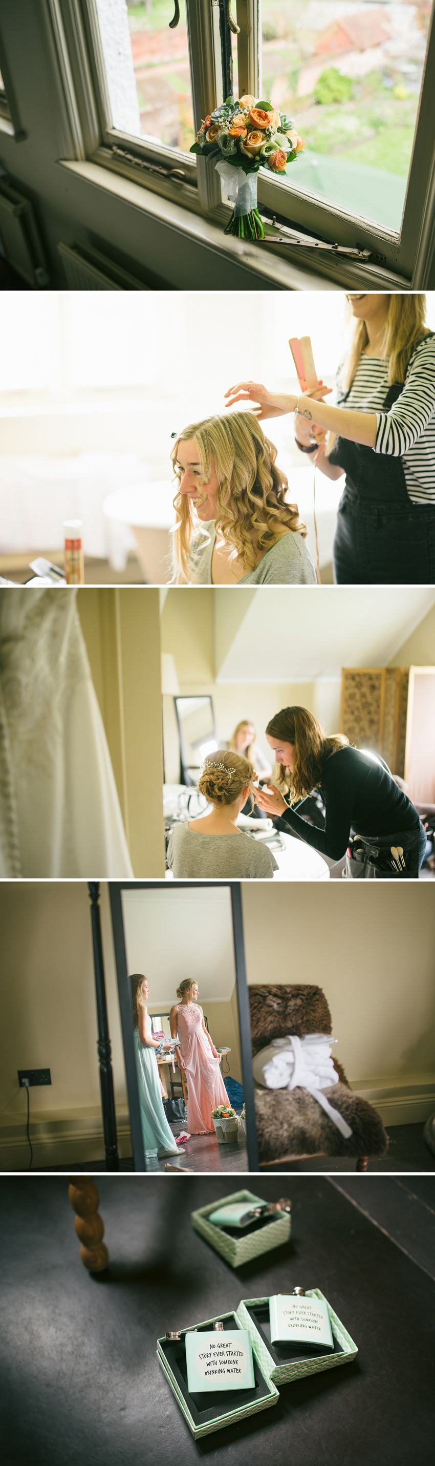 monks barn bridal prep