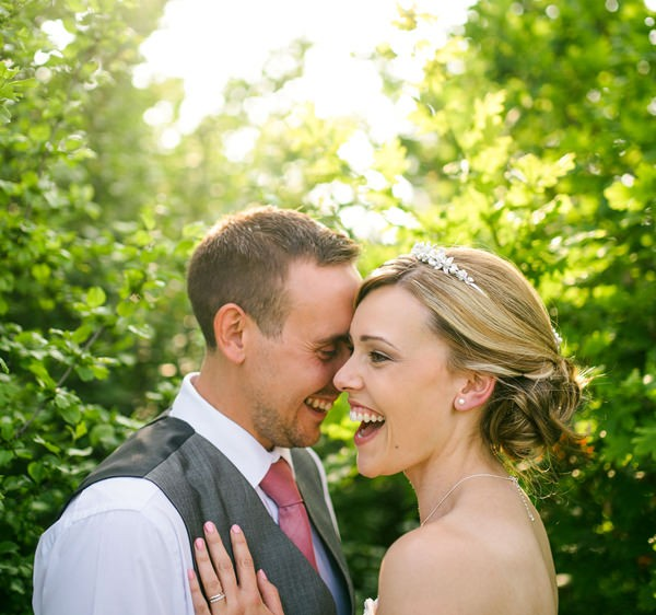 couple wedding photo at alexander park golf course