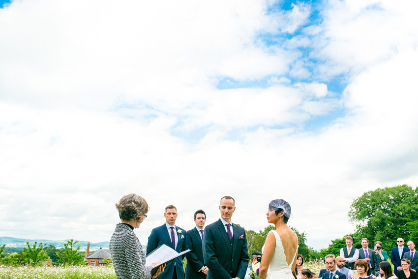 getting married outside in the uk