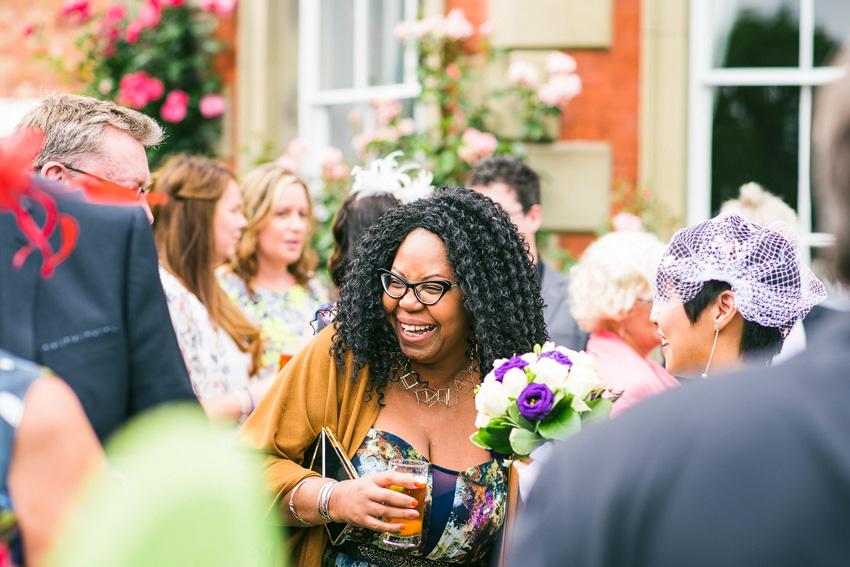 super happy guests at weddings