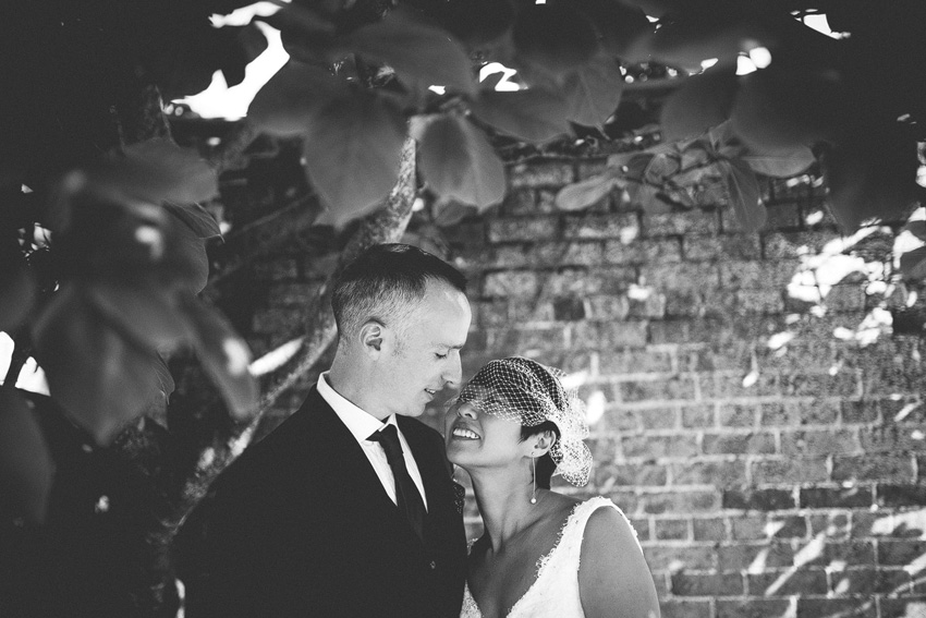bride and groom portraits herefordshire