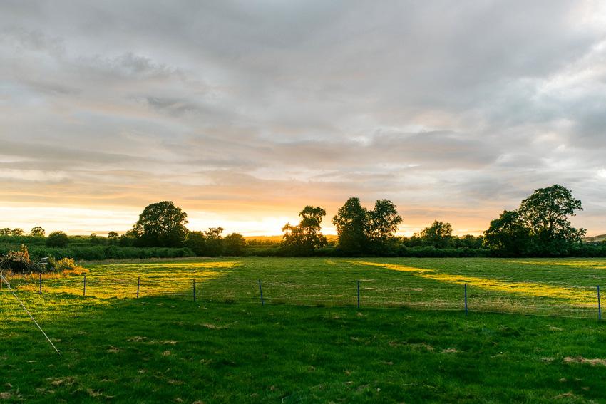 kington sunset