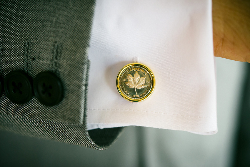 canadian cuff links