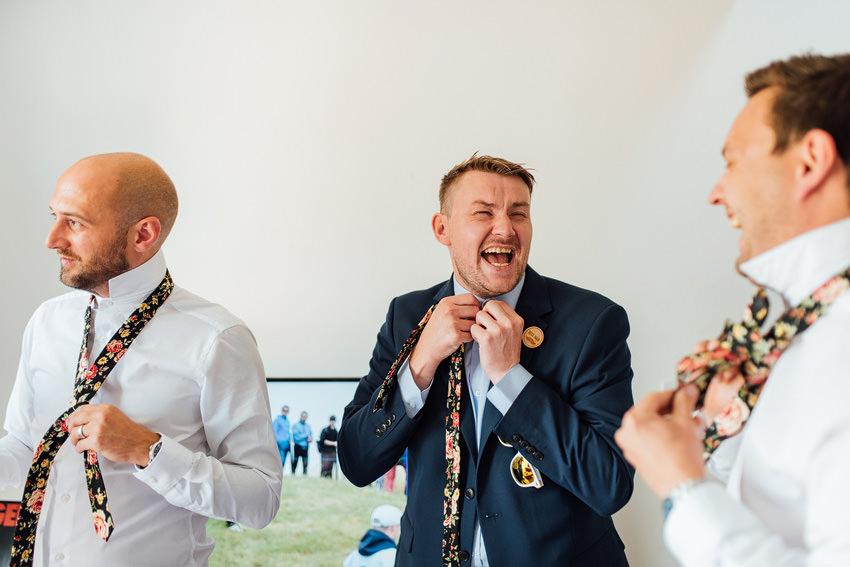 brilliant groomsmen