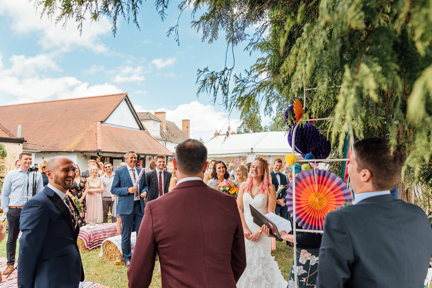 humanist wedding photography in Hereford