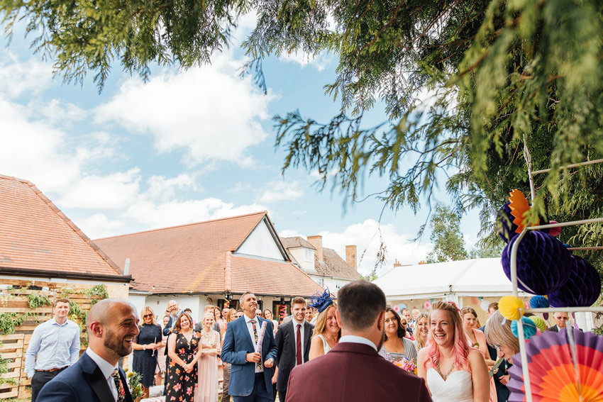 Blue skies for your wedding day
