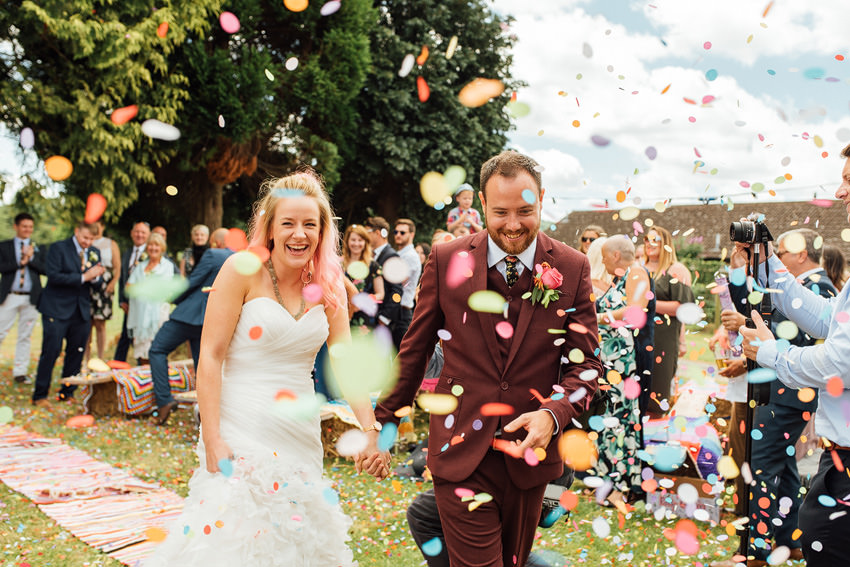 in and amongst the confetti