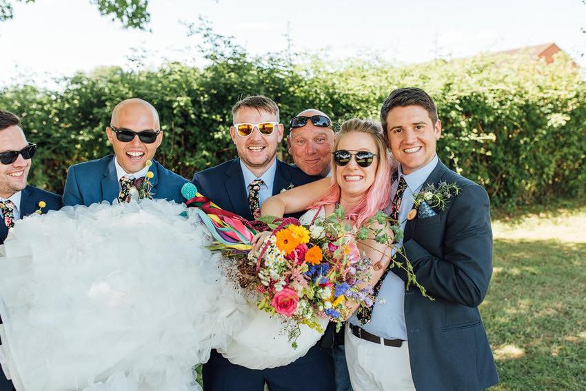 super cool bride
