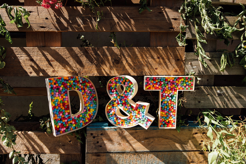 dan and tash wedding letters