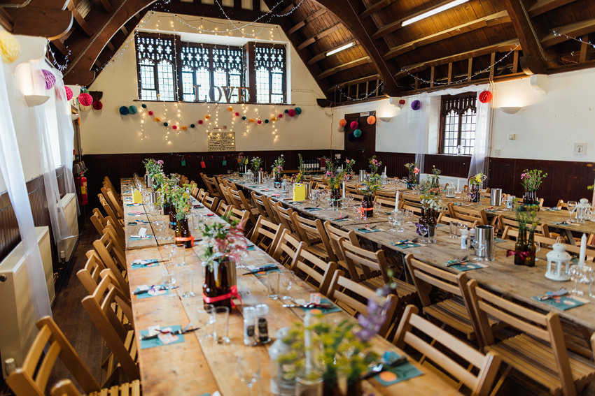 decorating holme lacy village hall