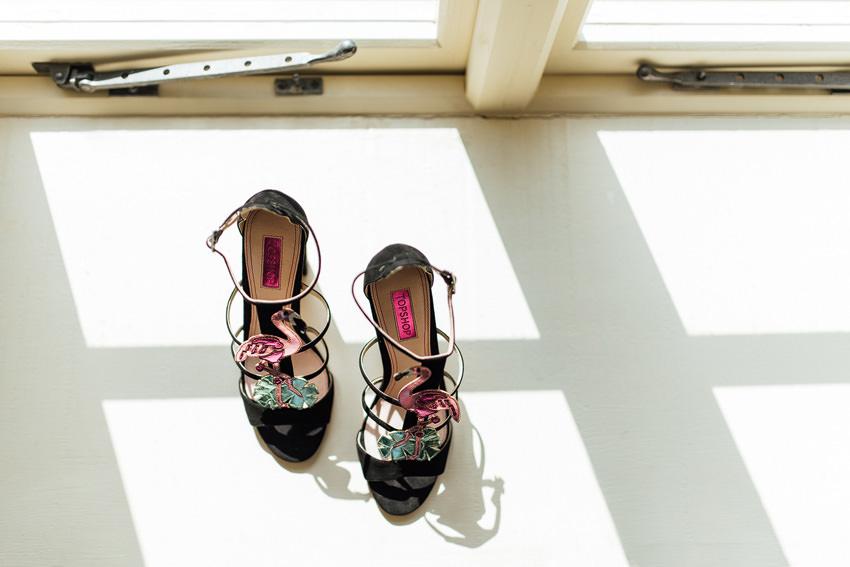 topshop flamingo shoes