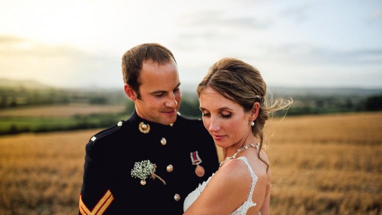 wedding couple hereford
