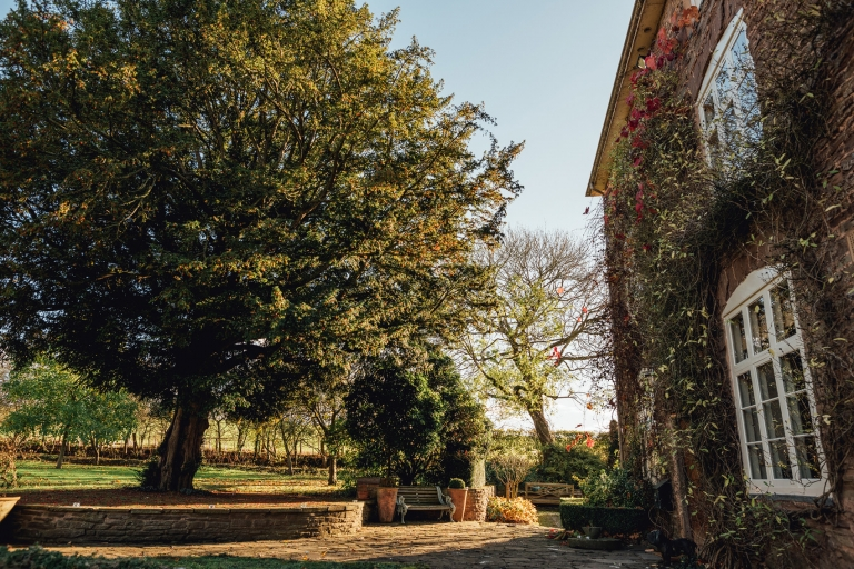Wedding photography at Dewsall Court in Herefordshire