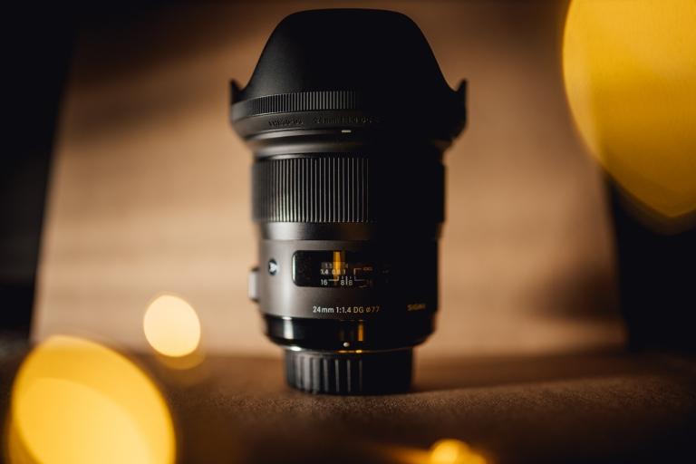 Sigma 24mm 1.4 lens bokeh