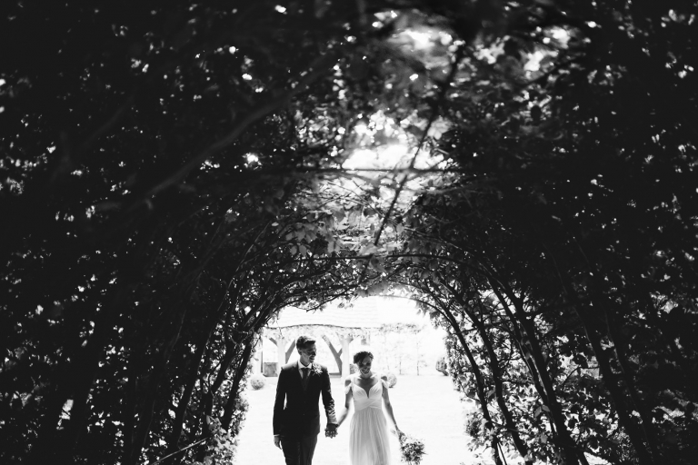 tunnel of trees at cripps barn